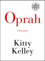 Cover image for Oprah a biography