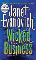 Cover image for Wicked business. bk. 2 Lizzy and Diesel series