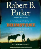 Cover image for Brimstone. bk. 3 Everett Hitch and Virgil Cole series