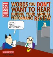 Cover image for Words you don't want to hear during your annual performance review : Dilbert book series