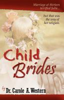 Cover image for Child brides