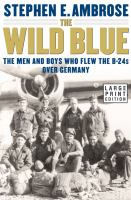 Cover image for The wild blue : the men and boys who flew the B-24s over Germany