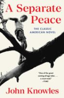 Cover image for A separate peace [large print]