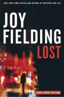 Cover image for Lost [large print] : a novel
