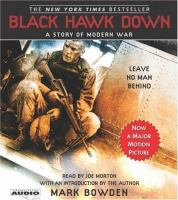 Cover image for Black Hawk down