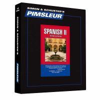 Cover image for Spanish II Pimsleur language program.
