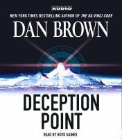 Imagen de portada para Deception point