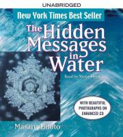 Cover image for The hidden messages in water