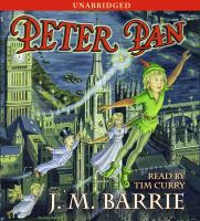 Cover image for Peter Pan [sound recording CD] (read by Tim Curry)