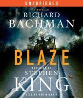 Cover image for Blaze a novel