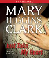 Cover image for Just take my heart