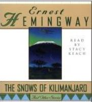 Cover image for The snows of kilimanjaro and other stories