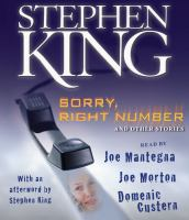 Cover image for Sorry, right number and other stories
