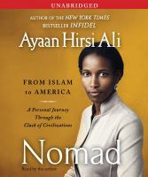 Cover image for Nomad from Islam to America : a personal journey through the clash of civilizations
