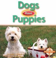 Cover image for Dogs have puppies
