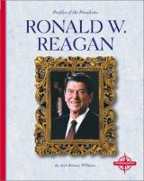 Cover image for Ronald W. Reagan