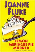 Imagen de portada para Lemon meringue pie murder. bk. 4 : Hannah Swensen series