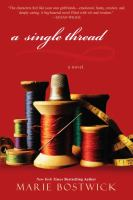 Cover image for A single thread. bk. 1 : Cobbled Court quilts series