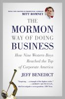 Cover image for The Mormon way of doing business leadership and success through faith and family