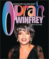 Cover image for Oprah Winfrey : success with an open heart