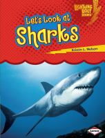 Cover image for Let's look at sharks