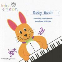 Cover image for Baby Einstein. Baby Bach concert for little ears