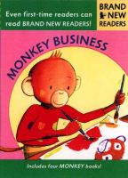 Cover image for Monkey business