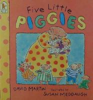 Cover image for Five little piggies