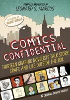 Cover image for Comics confidential : thirteen graphic novelists talk story, craft, and life outside the box
