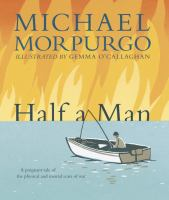 Cover image for Half a man