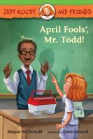 Cover image for April fools', Mr. Todd!