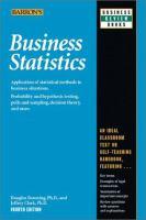 Imagen de portada para Business statistics