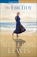 Cover image for The ebb tide [large print]