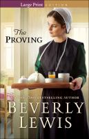 Cover image for The proving [large print]