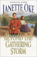 Cover image for Beyond the gathering storm. bk. 5 : Canadian West series