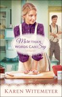 Cover image for More than words can say. bk. 2 : Patchwork family series