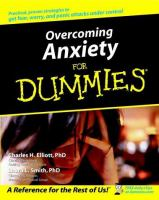 Cover image for Overcoming anxiety for dummies