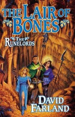 Cover image for The lair of bones. bk. 4 : The Runelords series