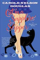 Cover image for Cat in a sapphire slipper. bk. 20 : Midnight Louie series