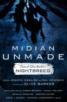Cover image for Midian unmade : tales of Clive Barker's Nightbreed