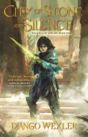 Cover image for City of stone and silence. bk. 2 : Wells of sorcery trilogy series