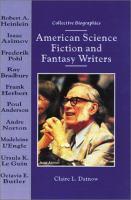 Imagen de portada para American science fiction and fantasy writers