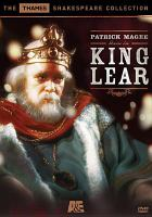 Cover image for King Lear (Patrick Magee version)