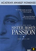 Cover image for Sister Rose's passion