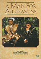 Cover image for A man for all seasons