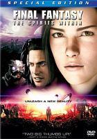Imagen de portada para Final fantasy the spirits within