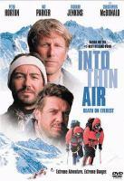 Imagen de portada para Into thin air death on Everest