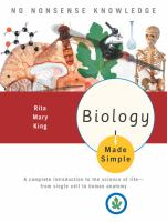 Cover image for Biology made simple
