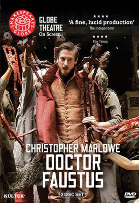 Cover image for Doctor Faustus [videorecording DVD] : Shakespeare's Globe Theatre