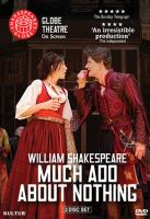 Cover image for Much ado about nothing [videorecording DVD] : Shakespeare's Globe Theatre